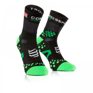 Racing Socks v2.1 Run Hi Black/Green