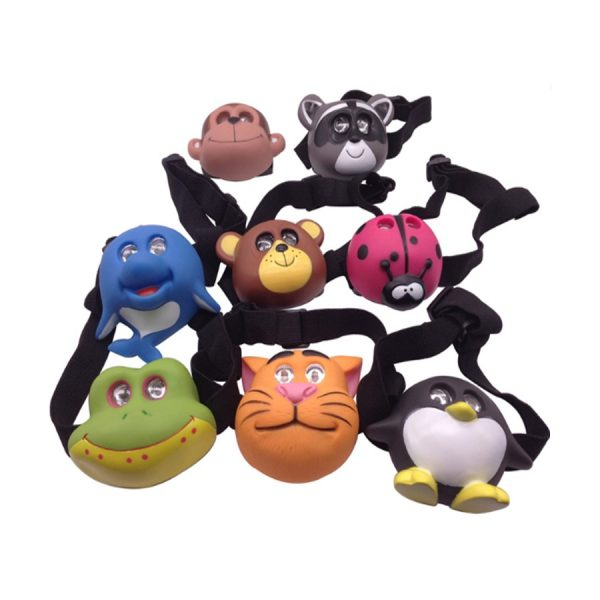 2 LED Headlight Kids Penguin