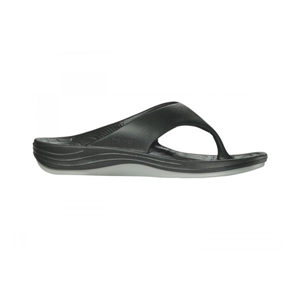 Aetrex Lynco Flips - Men - Black