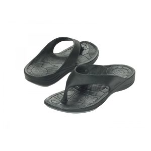 Aetrex Lynco Flips - Women - Black
