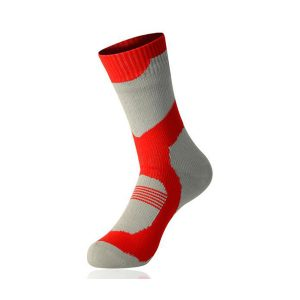 ANTU Merino Wool Waterproof Socks Grey/Red