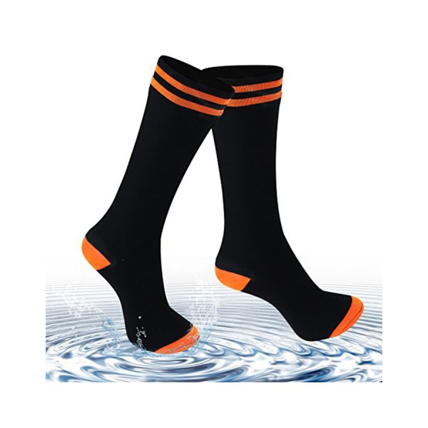 ANTU Merino Wool Waterproof Socks Black/orange