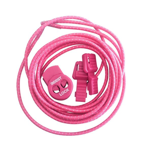 Beest Pink/White laces