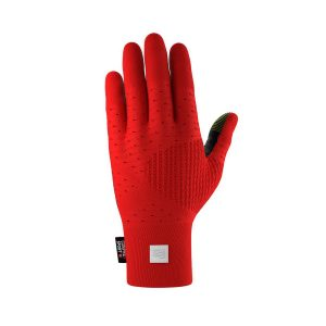 Compressport 3d Thermo Seamless Running Gloves Red/Black