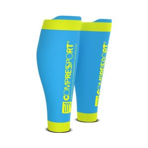 Compressport R2V2 Compression Calf Sleeves – Ice Blue