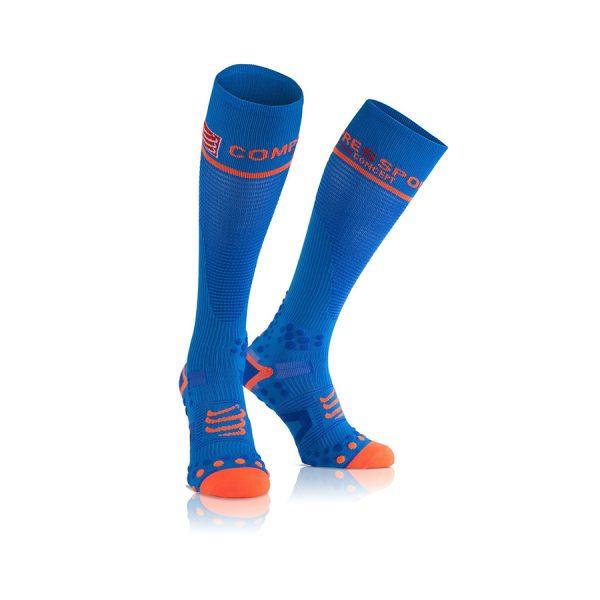 Compressport Compression Full Socks V2.1 Blue