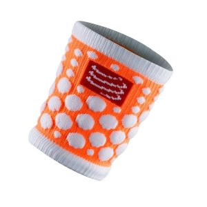 Compressport SWEAT band 3D.Dots - Fluo Orange