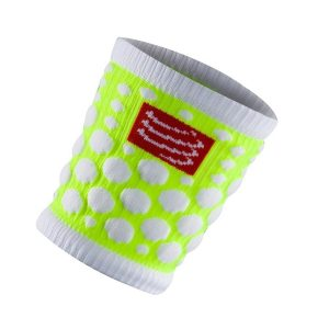 Compressport SWEAT band 3D.Dots - Fluo Yellow