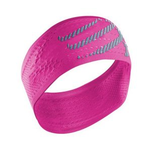 Compressport On/Off Sweat Headband Fluo Pink