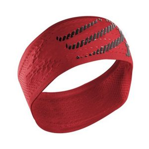 Compressport On/Off Sweat Headband Red