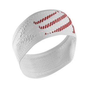 Compressport On/Off Sweat Headband White