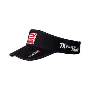 Compressport Triathlon/Running Visor Cap Black