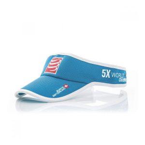 Compressport Triathlon/Running Visor Cap Blue
