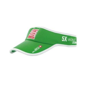 Compressport Triathlon/Running Visor Cap Green