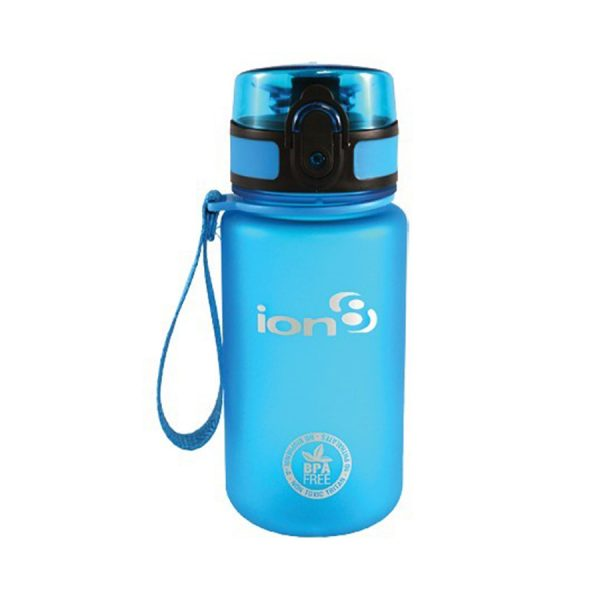 Ion8 Pod BPA Free Water Bottle - 350ml Frosted Blue