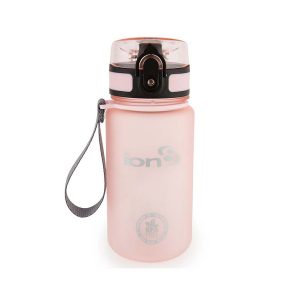 Ion8 Pod BPA Free Water Bottle - 350ml Frosted Rose Quartz