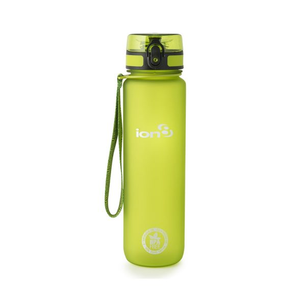 Ion8 Quench BPA Free Water Bottle - 1000ml Frosted Green