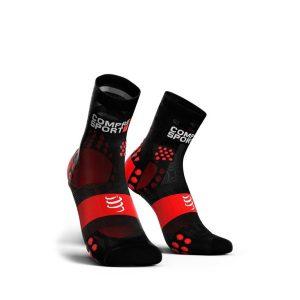 Compressport Racing Socks V3.0 Ultralight Run Hi Black/Red