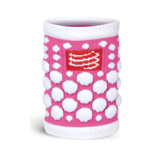 Compressport SWEAT band 3D.dots - FLUO Pink
