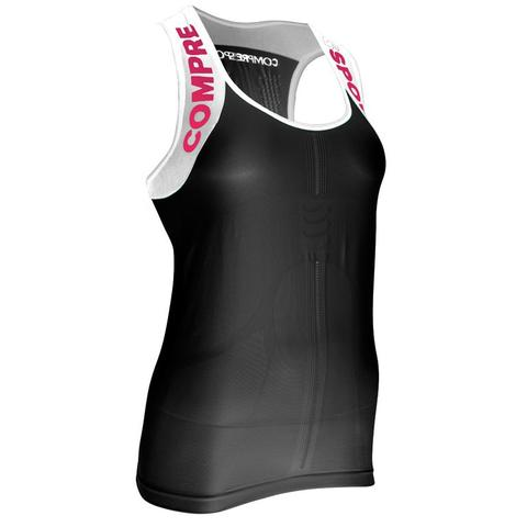 COMPRESSPORT Trail Running Shirt V2 Ultra Tank W Black