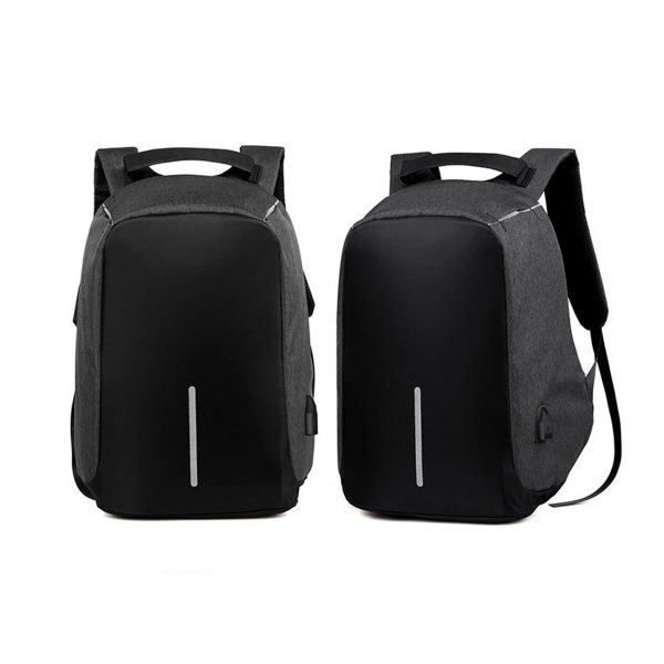 Milano Anti Theft Backpack Black