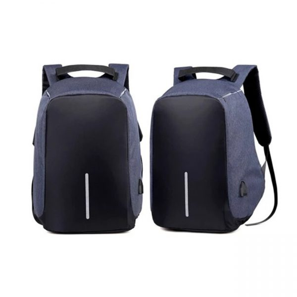Milano Anti Theft Backpack Blue