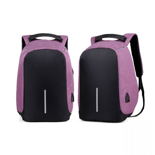 Milano Anti Theft Backpack Purple