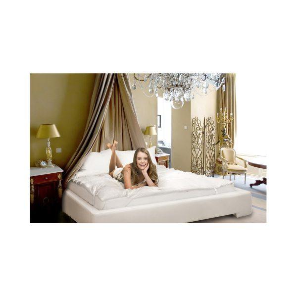Royal Comfort Goose Topper - King Bed